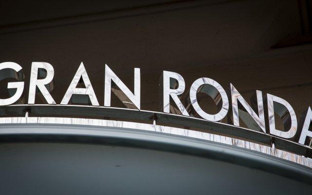 Отель Bcn Urbany Hotels Gran Ronda Барселона вид на фасад