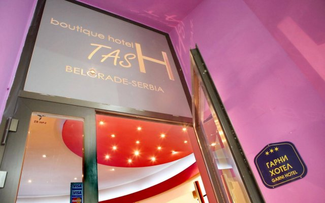 Boutique Hotel Tash Belgrade вид на фасад