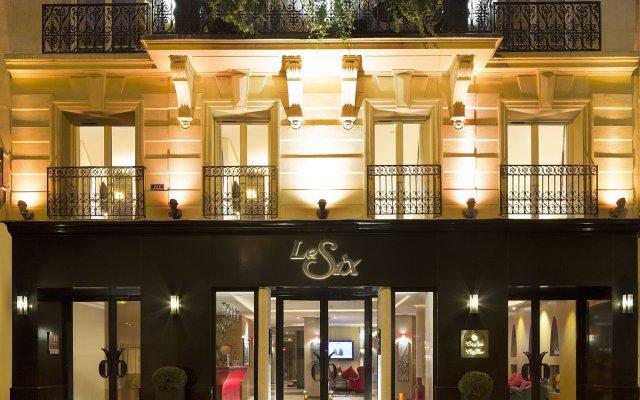 Hotel Le Six вид на фасад