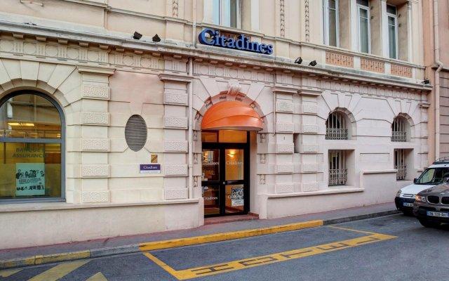 Отель Citadines Croisette Cannes Франция, Канны - 8 отзывов об отеле, цены и фото номеров - забронировать отель Citadines Croisette Cannes онлайн вид на фасад