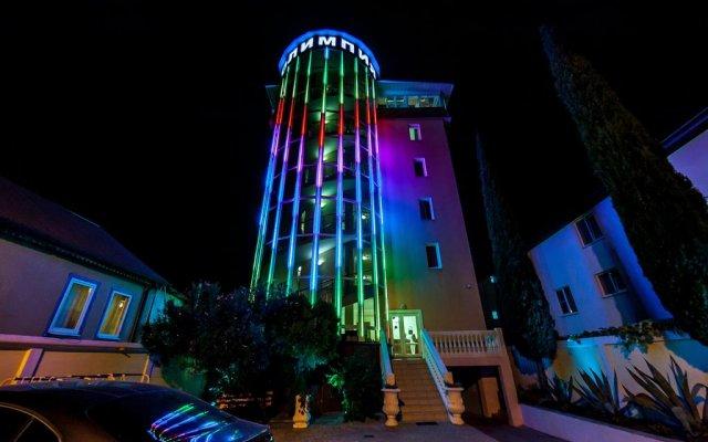 Гостиница Олимпия Адлер в Сочи 2 отзыва об отеле, цены и фото номеров - забронировать гостиницу Олимпия Адлер онлайн вид на фасад