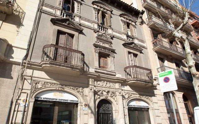 Отель Allapartments Sagrada Familia Барселона вид на фасад