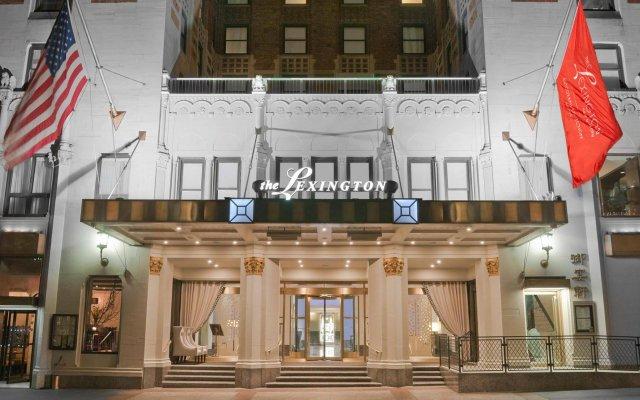 Отель The Lexington Hotel, Autograph Collection США, Нью-Йорк - отзывы, цены и фото номеров - забронировать отель The Lexington Hotel, Autograph Collection онлайн вид на фасад