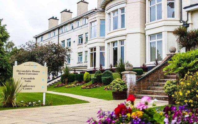 Отель The Devonshire House Hotel Великобритания, Ливерпуль - 1 отзыв об отеле, цены и фото номеров - забронировать отель The Devonshire House Hotel онлайн вид на фасад