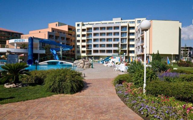 Апартаменты Sunny Beach Rent Apartments - Trakia Plaza вид на фасад