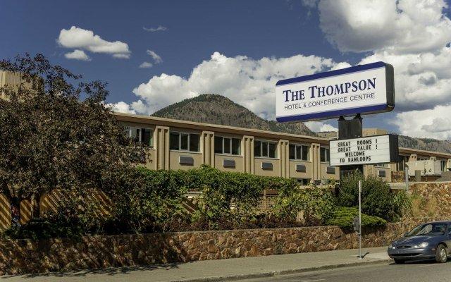 Отель Thompson Hotel & Conference Center Канада, Камлупс - отзывы, цены и фото номеров - забронировать отель Thompson Hotel & Conference Center онлайн вид на фасад