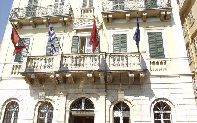 Отель Cavalieri Hotel Греция, Корфу - 1 отзыв об отеле, цены и фото номеров - забронировать отель Cavalieri Hotel онлайн вид на фасад