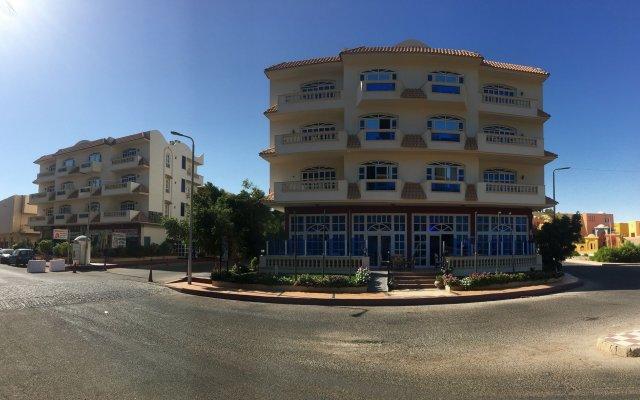 Отель New DaVinci Beach & Diving Resort вид на фасад