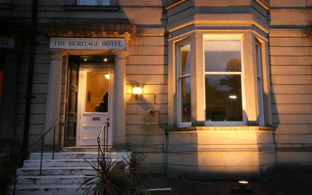 The Heritage Hotel Глазго вид на фасад