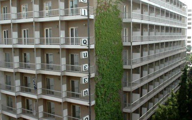 Отель Queen Olga Греция, Салоники - отзывы, цены и фото номеров - забронировать отель Queen Olga онлайн вид на фасад