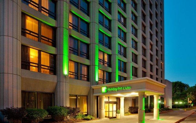 Отель Holiday Inn & Suites Downtown Ottawa Канада, Оттава - отзывы, цены и фото номеров - забронировать отель Holiday Inn & Suites Downtown Ottawa онлайн вид на фасад