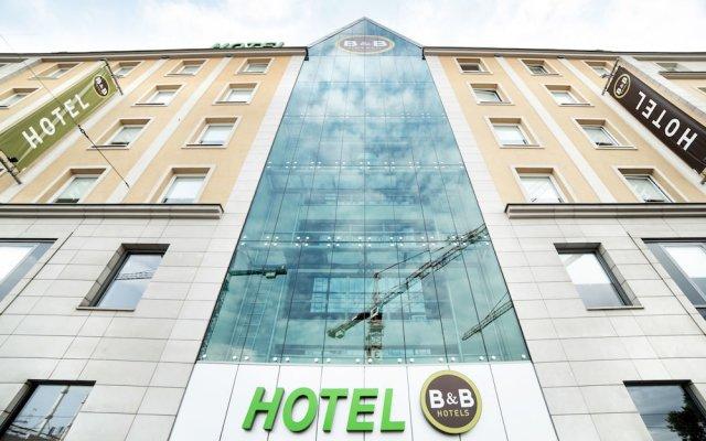 Отель B&B Wrocław Centrum Польша, Вроцлав - 1 отзыв об отеле, цены и фото номеров - забронировать отель B&B Wrocław Centrum онлайн вид на фасад