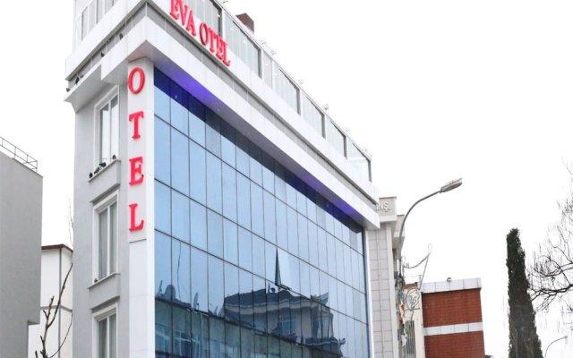 Отель Eva Otel вид на фасад