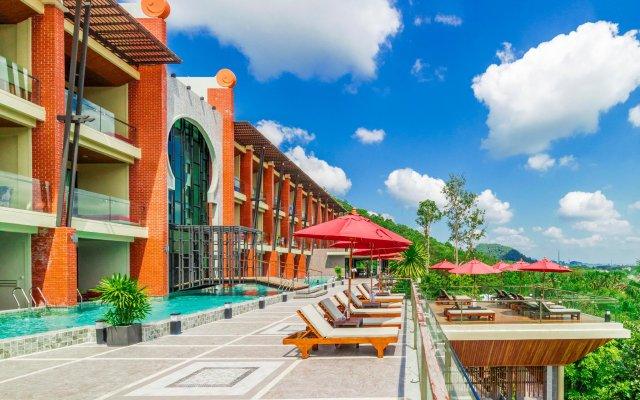 Отель Ao Nang Phu Pi Maan Resort & Spa вид на фасад