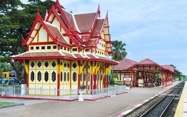 Отель Sheraton Hua Hin Pranburi Villas вид на фасад