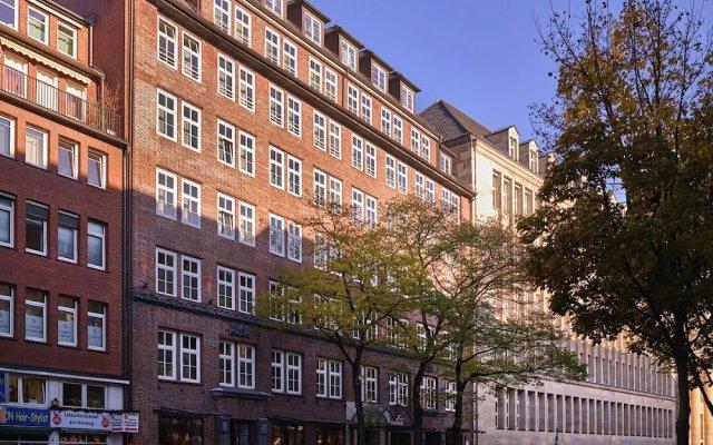Отель Hapimag Resort Hamburg Германия, Гамбург - отзывы, цены и фото номеров - забронировать отель Hapimag Resort Hamburg онлайн вид на фасад