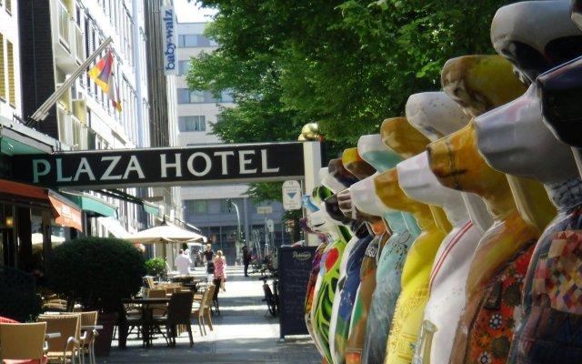Отель Berlin Plaza Германия, Берлин - отзывы, цены и фото номеров - забронировать отель Berlin Plaza онлайн вид на фасад