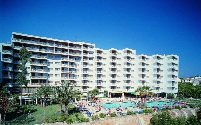 Hotel apartamentos Vistasol вид на фасад