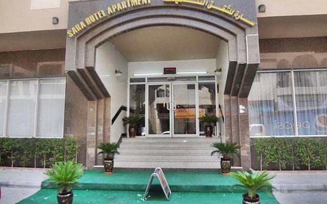 Отель Sara Hotel Apartment ОАЭ, Аджман - отзывы, цены и фото номеров - забронировать отель Sara Hotel Apartment онлайн вид на фасад