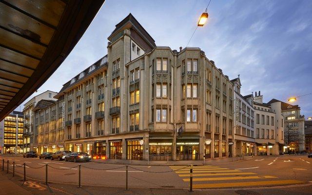 Sorell Hotel Seidenhof вид на фасад