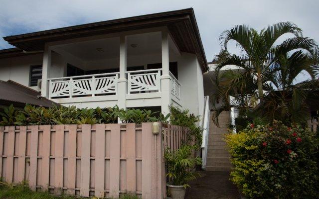 Отель Tiare Lodge Французская Полинезия, Бора-Бора - отзывы, цены и фото номеров - забронировать отель Tiare Lodge онлайн вид на фасад