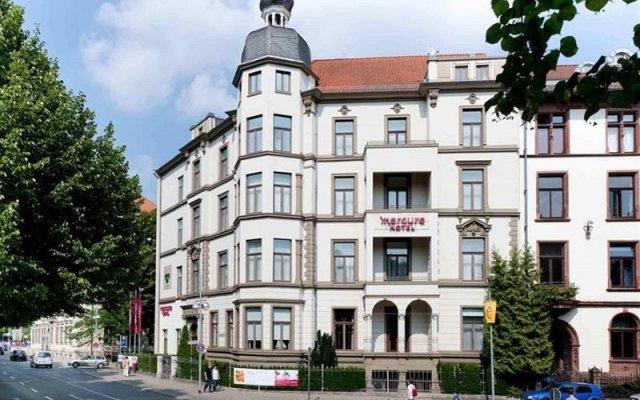 Mercure Hotel Hannover City вид на фасад