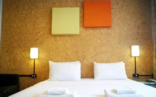 Отель Baan Saladaeng Boutique Guesthouse Бангкок комната для гостей