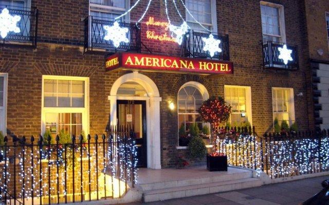 Отель Americana Hotel Великобритания, Лондон - 2 отзыва об отеле, цены и фото номеров - забронировать отель Americana Hotel онлайн вид на фасад