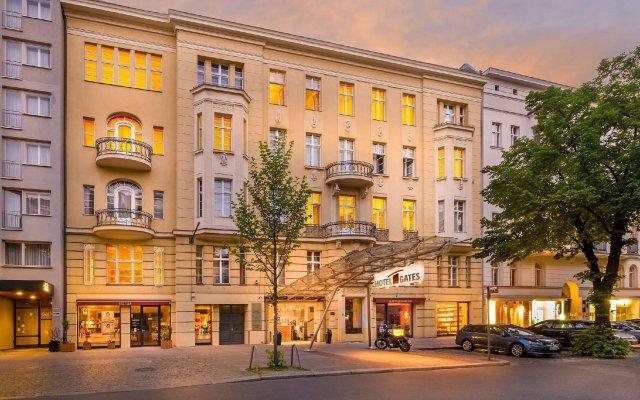 Novum Hotel Gates Berlin Charlottenburg вид на фасад
