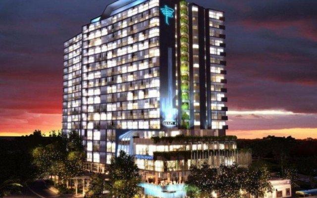 Alpha Mosaic Hotel Fortitude Valley Brisbane вид на фасад