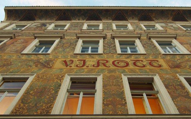 Отель Rott Hotel Чехия, Прага - 9 отзывов об отеле, цены и фото номеров - забронировать отель Rott Hotel онлайн вид на фасад
