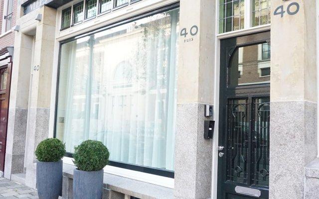 Отель De Jonker Urban Studio's & Suites Нидерланды, Амстердам - отзывы, цены и фото номеров - забронировать отель De Jonker Urban Studio's & Suites онлайн вид на фасад
