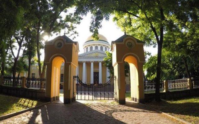Гостиница Welcome to Dnepropetrovsk вид на фасад