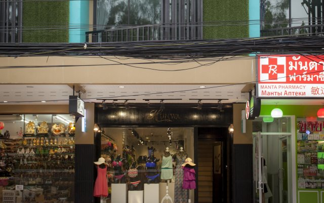Отель Hunwa Guest House вид на фасад