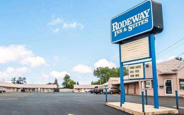 Отель Rodeway Inn & Suites Niagara Falls США, Ниагара-Фолс - отзывы, цены и фото номеров - забронировать отель Rodeway Inn & Suites Niagara Falls онлайн вид на фасад