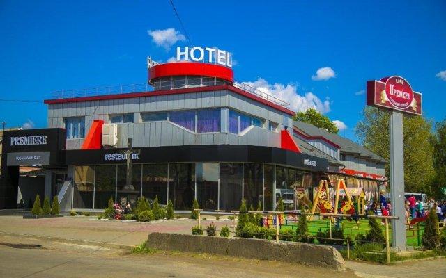 Гостиница Премьера вид на фасад