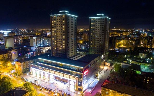 Отель Bishkekpark Residence Кыргызстан, Бишкек - отзывы, цены и фото номеров - забронировать отель Bishkekpark Residence онлайн вид на фасад