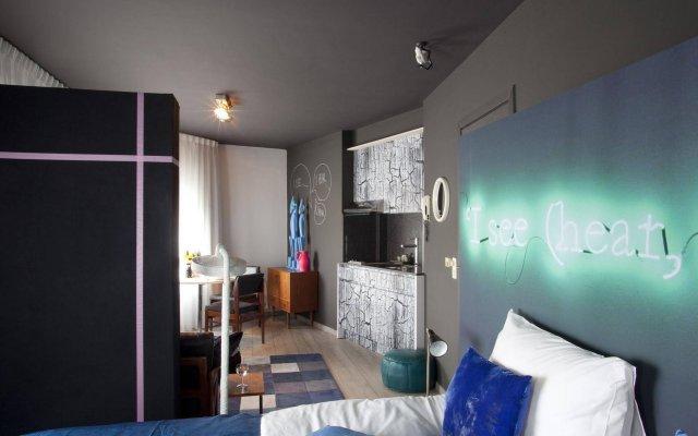 Отель The Soul Antwerp Антверпен комната для гостей