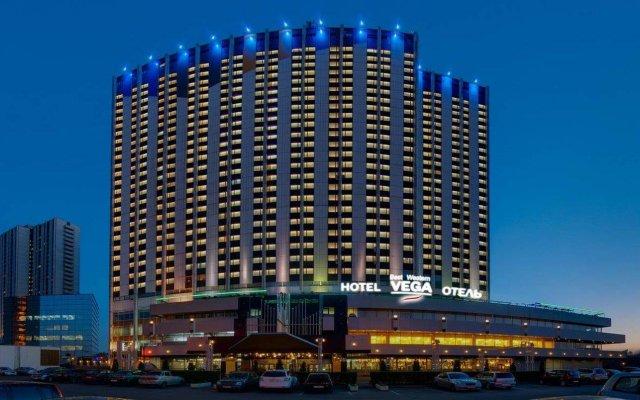 Гостиница Вега Измайлово вид на фасад