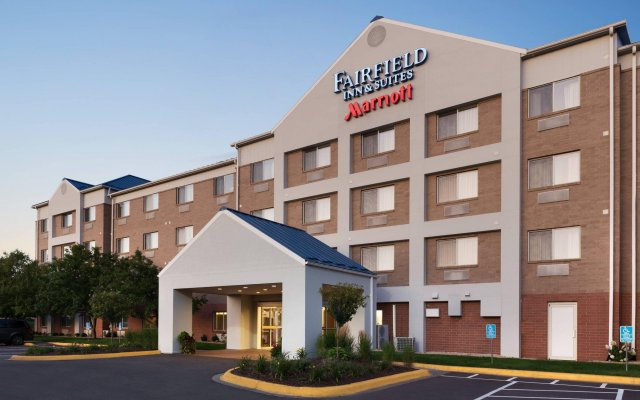 Отель Fairfield Inn And Suites By Marriott Mall Of America Блумингтон вид на фасад
