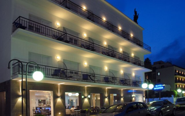 Hotel Avenida вид на фасад