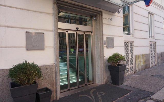 Leonardo Boutique Hotel Rome Termini вид на фасад