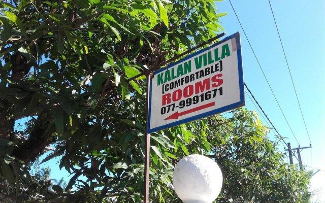 Отель Kalan Villa вид на фасад