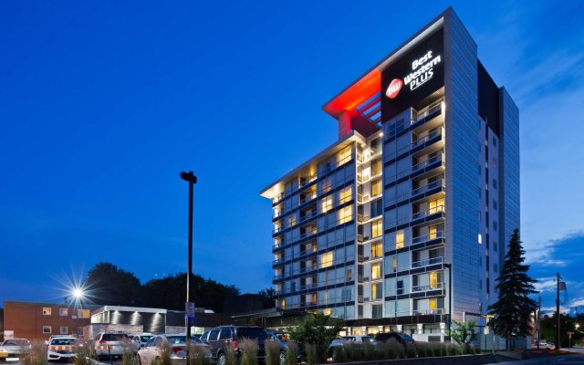 Отель Best Western Plus Gatineau-Ottawa Канада, Гатино - отзывы, цены и фото номеров - забронировать отель Best Western Plus Gatineau-Ottawa онлайн вид на фасад