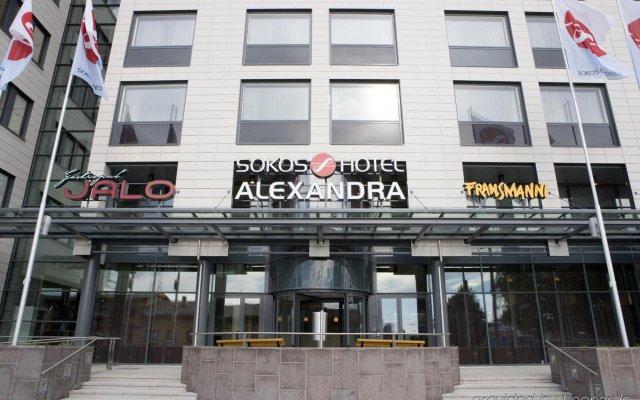 Отель Original Sokos Alexandra Ювяскюля вид на фасад