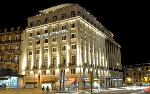 Отель Altis Avenida Hotel Португалия, Лиссабон - отзывы, цены и фото номеров - забронировать отель Altis Avenida Hotel онлайн вид на фасад