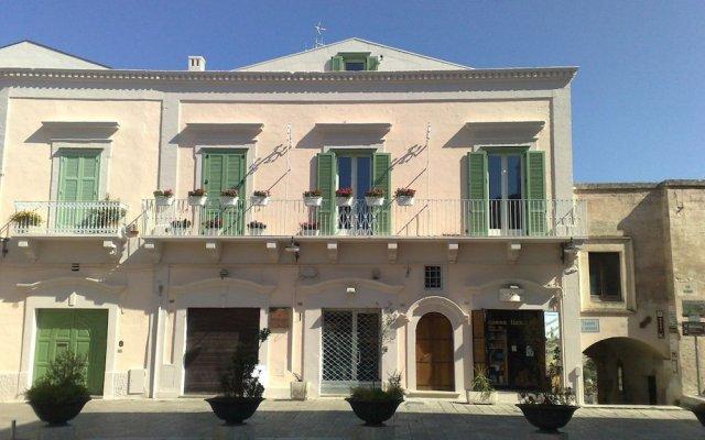 Отель Residenza Dei Suoni Матера вид на фасад