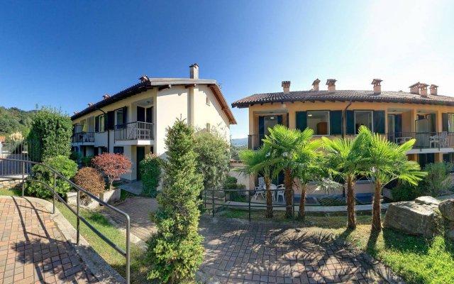Отель Residence Isolino Италия, Вербания - отзывы, цены и фото номеров - забронировать отель Residence Isolino онлайн вид на фасад