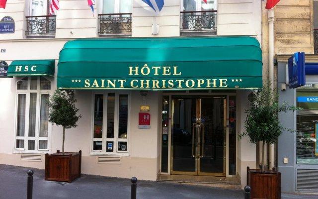Hotel Saint Christophe вид на фасад
