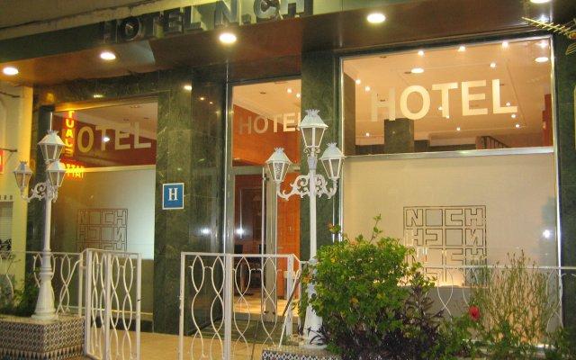 N.CH Hotel Torremolinos вид на фасад